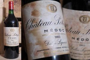 1983er Chateau Potensac-medoc-magnum!!!-afficher Le Titre D'origine