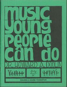 éNergique Musique De Jeunes Gens Peuvent Faire L'étude De Niveau Ii 1980 Doolin Bâtir Une Solide Fondation-afficher Le Titre D'origine Design Moderne