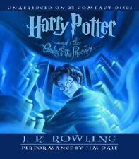 Harry Potter: Harry Potter and the Order of the Phoenix 5 by J. K. Rowling (2003, Cassette / CD, Deluxe, Large Type, Unabridged)