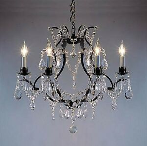 black wrought iron chandelier dining living room kitchen bedroom