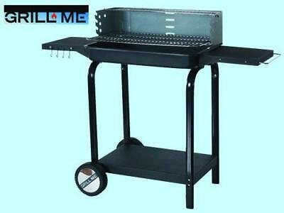 Yard, Garden & Outdoor Living Barbecue Griglia A Carbone Carbonella Grill Me Montreux Cm.l116xp38xh89 Comfortable Feel Home & Garden