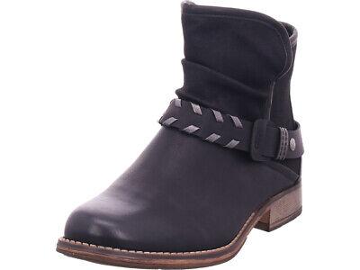 Rieker Damen 9777000 977 Stiefel Stiefelette Boots elegant schwarz | eBay