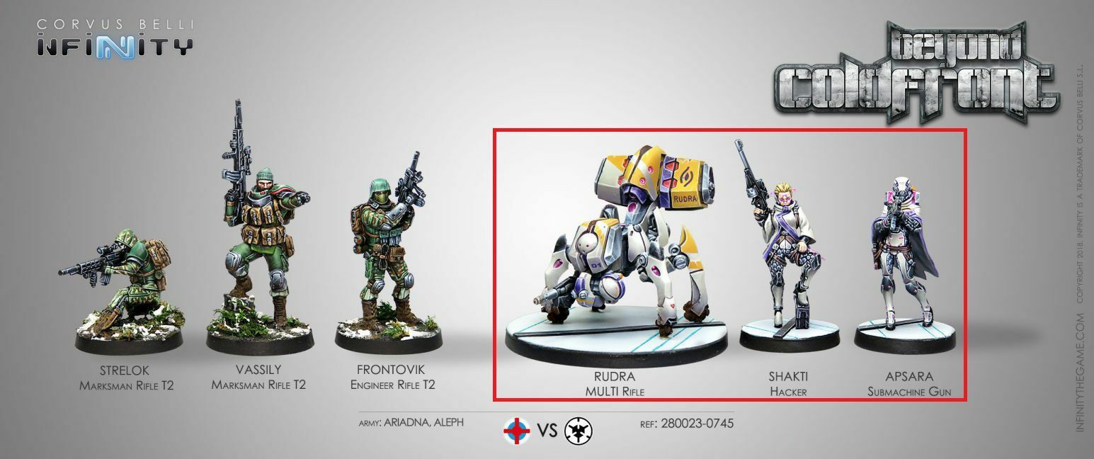 Infinity beyond Cold Front Aleph Part (Splitbox) Corvus Belli INF280023-B