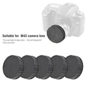 5pcs-Rear-Cap-Schutzhuelle-passt-fuer-Contax-fuer-Yashica-C-Y-Mount-Kamera-Objektiv