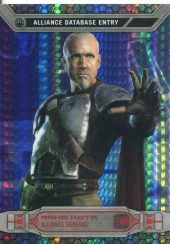 Star Wars Chrome Perspectives Prism Refractor Parallel Base #24R Rahm Kota