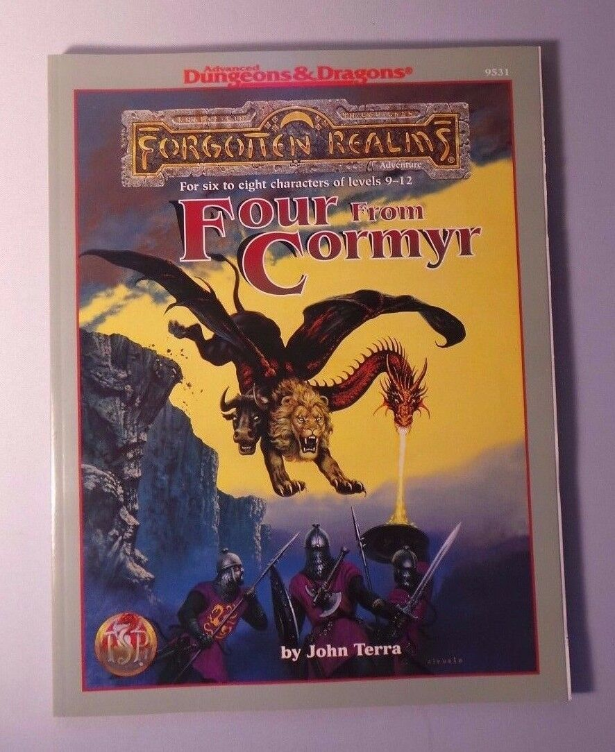 AD&D - Forgotten Realms - Four from Cormyr - TSR 9531 NM/MT