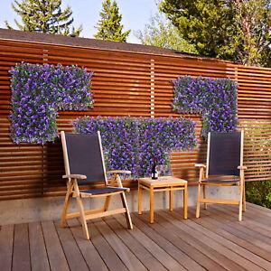 20 Quot X20 Quot Faux Purple Lavender Leaf D Cor Privacy Fence