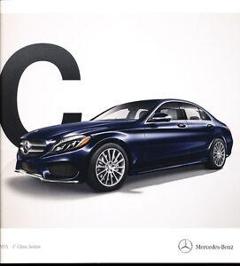 2015 mercedes benz c class c300 c400 32 page dealer car for Mercedes benz dealer parts online