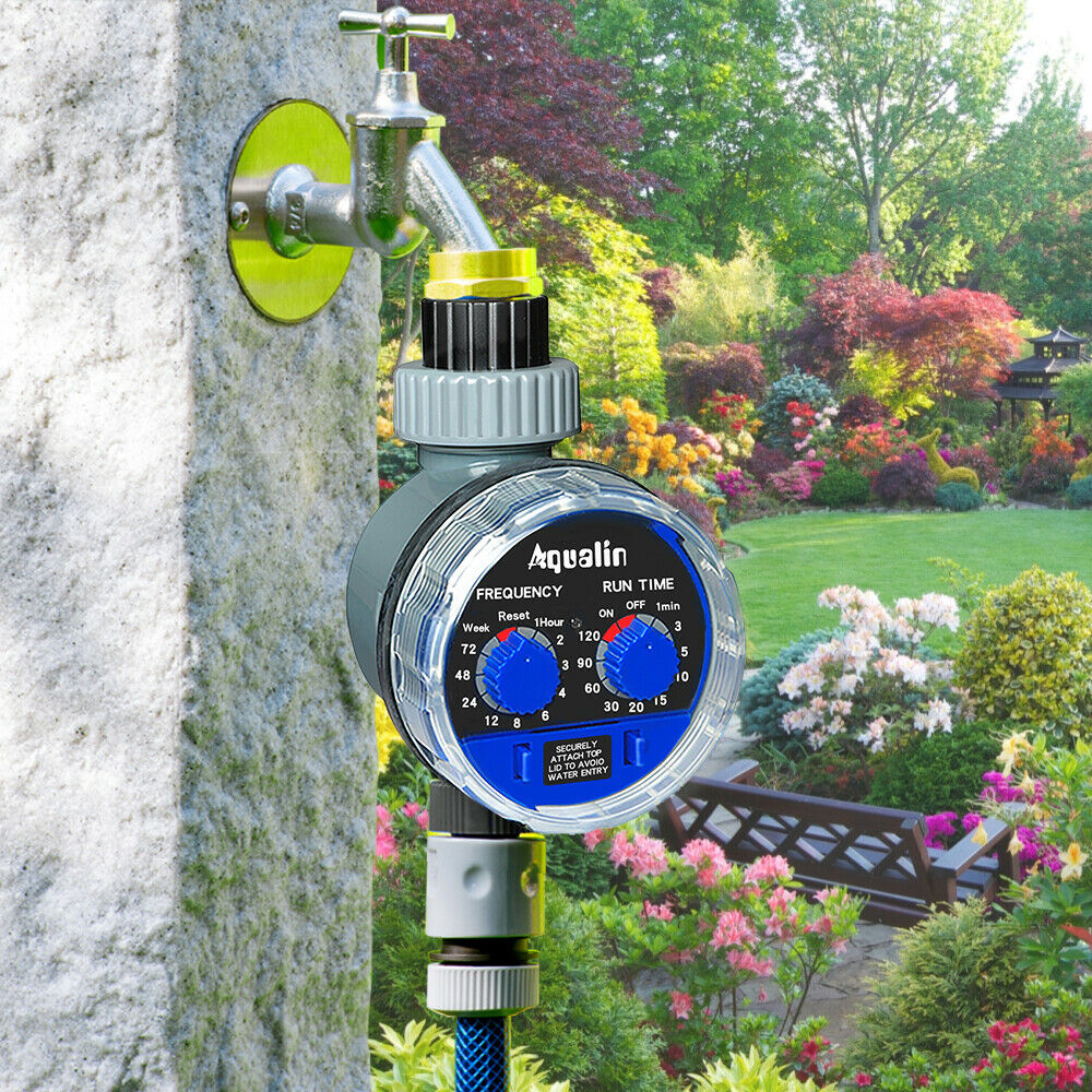 Automatic Ball Valve Water Timer Garden Irrigation Watering Tool For Home Garden
