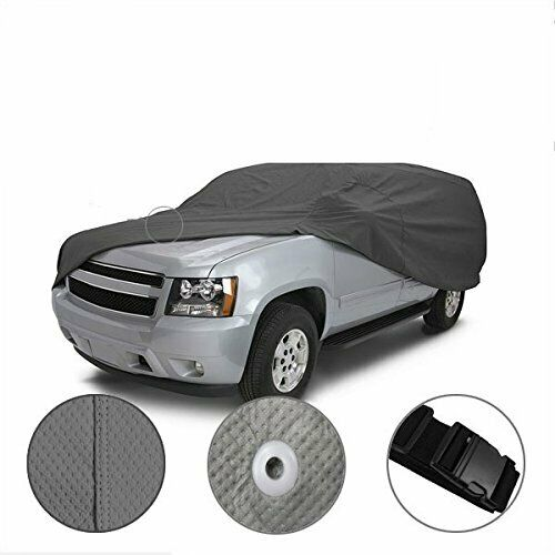 Weather//Waterproof Full SUV Car Cover For Chevy TrailBlazer CCT 2002-2009