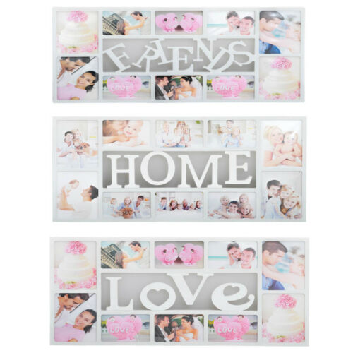 MULTI PHOTOFRAME FAMILY LOVE FRIENDS FRAMES COLLAGE PICTURE WALL PHOTO GIFT FRAM