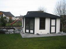 5 Eck Gartenhaus Blockhaus 5 eckige gartenhäuser450x300,28mm283936 mit Fussboden