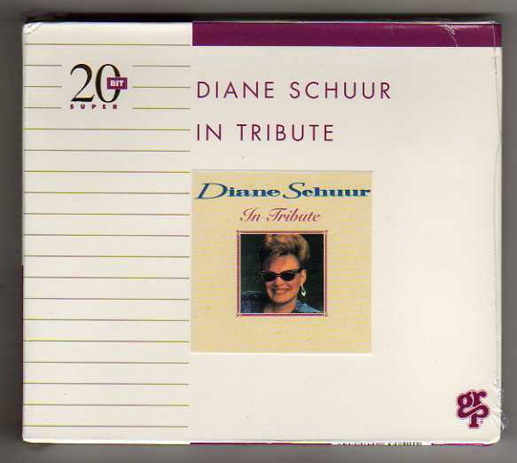 DIANE SCHUUR - IN TRIBUTE - CD MasterSound or SBM 2O BIT S - RARO SEALED MINT