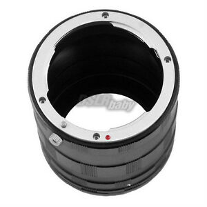 Metal-Macro-Extension-Tube-Ring-Adjustable-Length-for-Nikon-AI-AF-F-DSLR-Camera