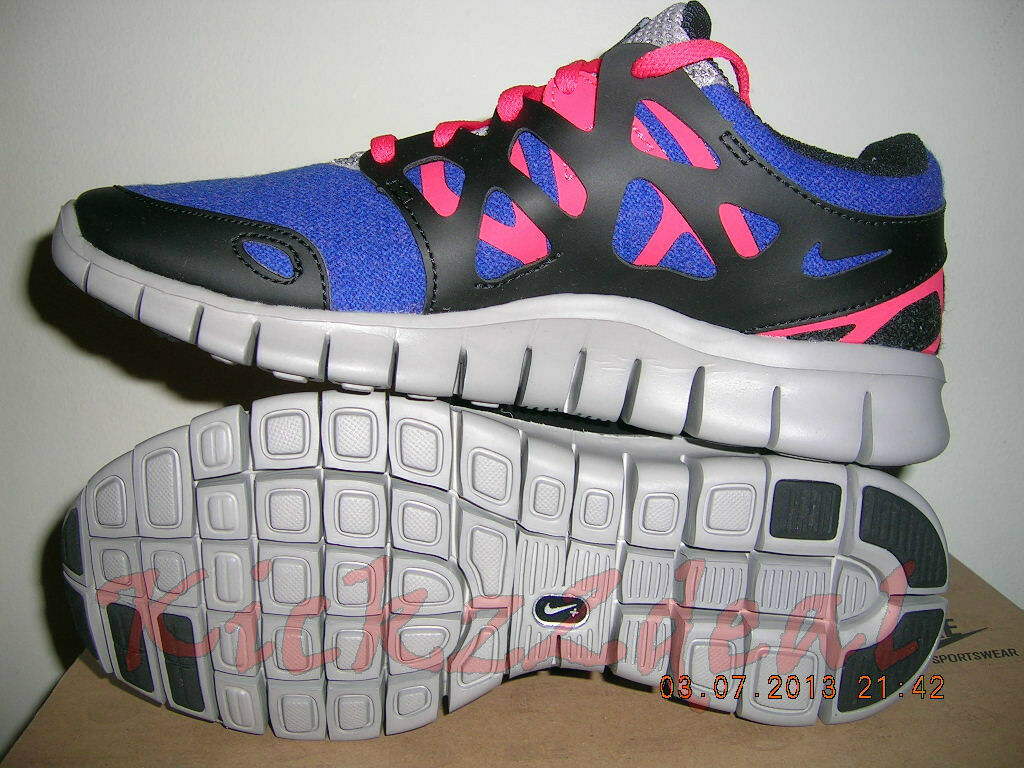fb089848d6be ... NEW WMNS WMNS WMNS NIKE FREE RUN+ 2 EXT Running Shoe 6 - 7 Royal Blue  ...