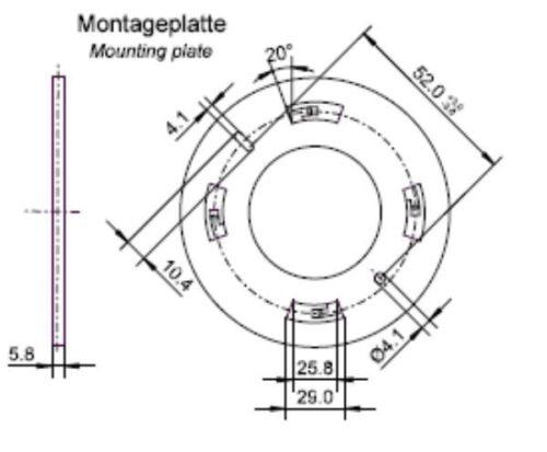 2x Infrarot Decken-Bewegungsmelder 360° ; Innen-//Aufputzmontage; LED geeignet