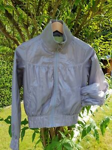Blouson-style-bombers-leger-argente-femme-taille-36-38-MEXX-Neuf