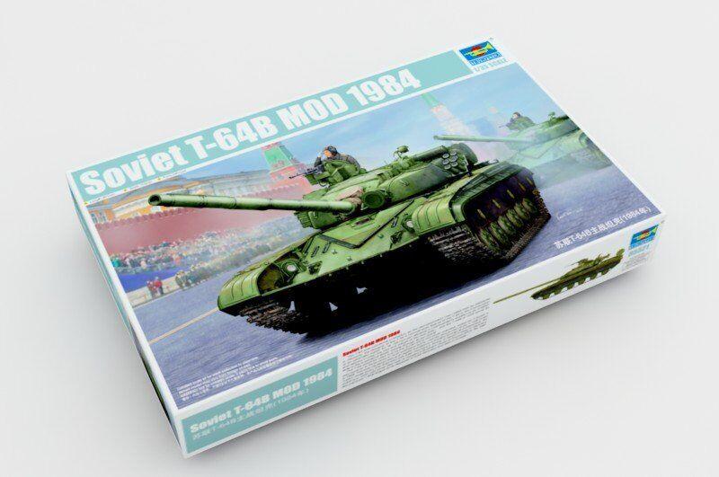 Trumpeter 05521 1 35 Soviet T-64B MOD 1984