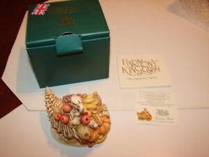 1-HARMONY-KINGDOM-Treasure-Jests-FEASTY-FEST-Turkey-UK-New-In-Box