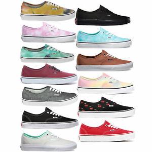 Vans-Authentic-Damen-Sneaker-Halbschuhe-Turnschuhe-Skateschuhe-Schuhe