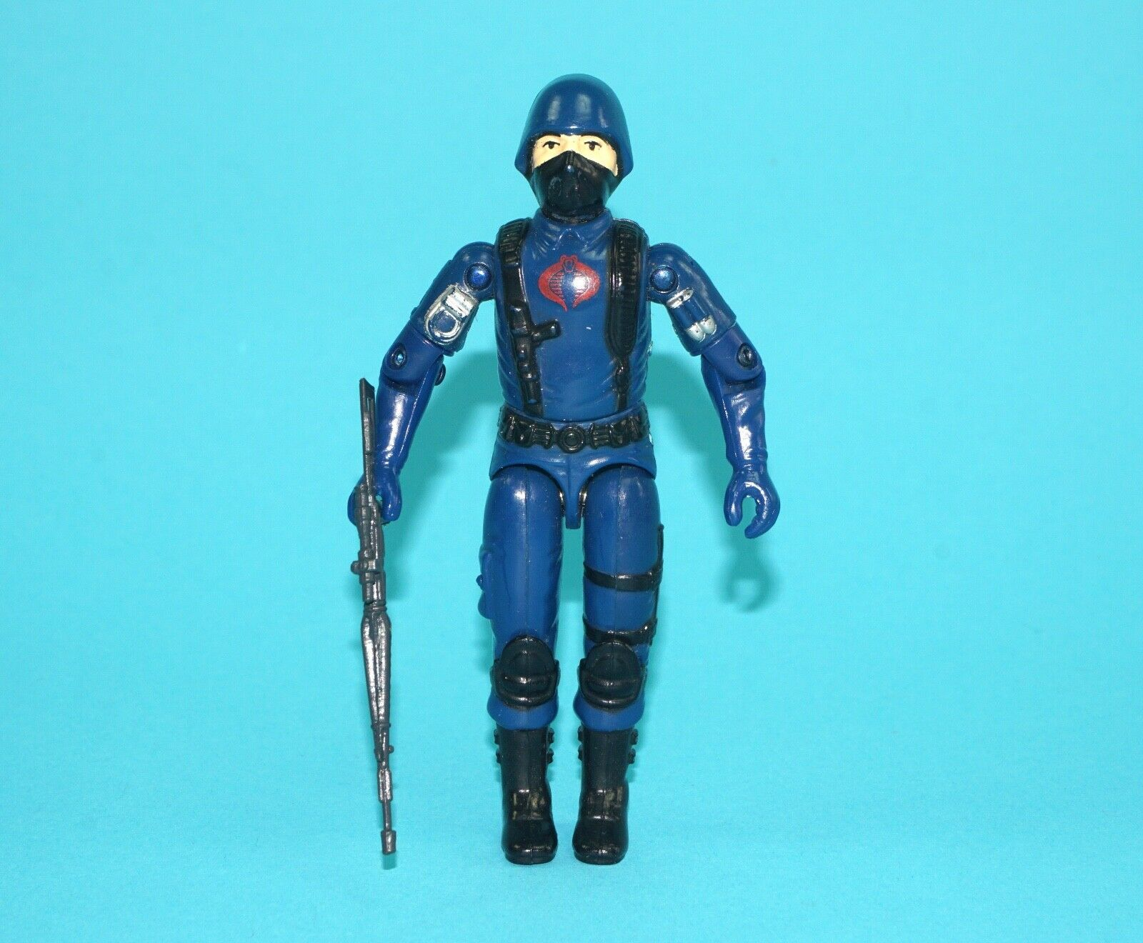 1983 GI JOE COBRA SOLDIER 'THE ENEMY' v1.5 100% COMPLETE C9 HASBRO