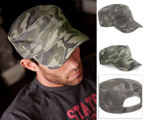 Mimetica Esercito Cap-Camo Cappello B33 giungla urbana Campo Militare Beechfield Cotone