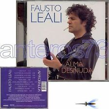 "FAUSTO LEALI ""ALMA DESNUDA"" RARO CD IN SPAGNOLO 1995"