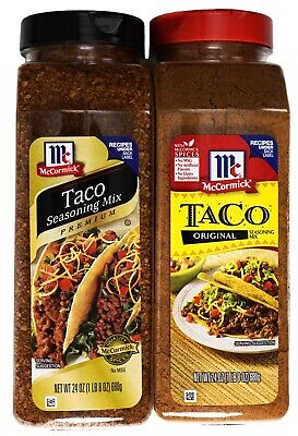 Mccormick Taco Seasoning Premium Or Original Mix With No Msg 24 Ounces Ebay