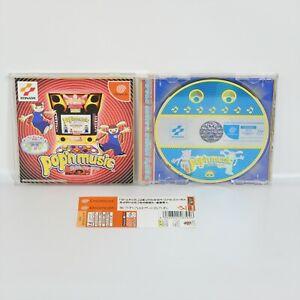 Dreamcast-POP-039-N-MUSIC-Spine-Sega-dc
