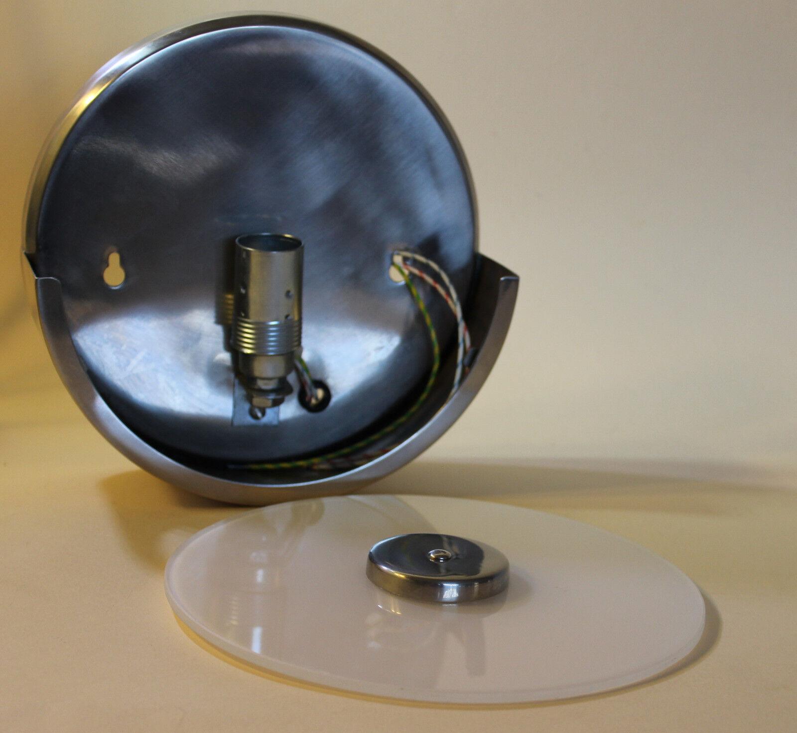 Murale éclairage Bauhaus en en en Opal Verre-Disque Design-Lampe 6 cm SeuleHommes t Plus invité/distance du mur | Prix Modéré  00788b