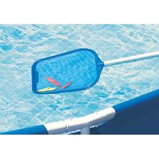 """Spa or Swimming Pool Flat Skimmer Net with 18"""" to 46"""" Telepole"""