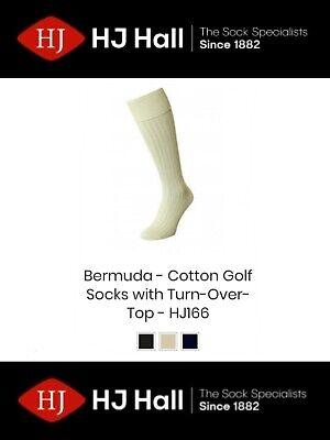 Mens HJ Hall Ribbed HJ114 Cotton Rich Socks UK 6-11