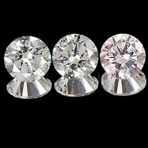 0-15CT-100-Natural-White-Round-Shape-Diamond-3PCS-Set-With-Free-Certificate