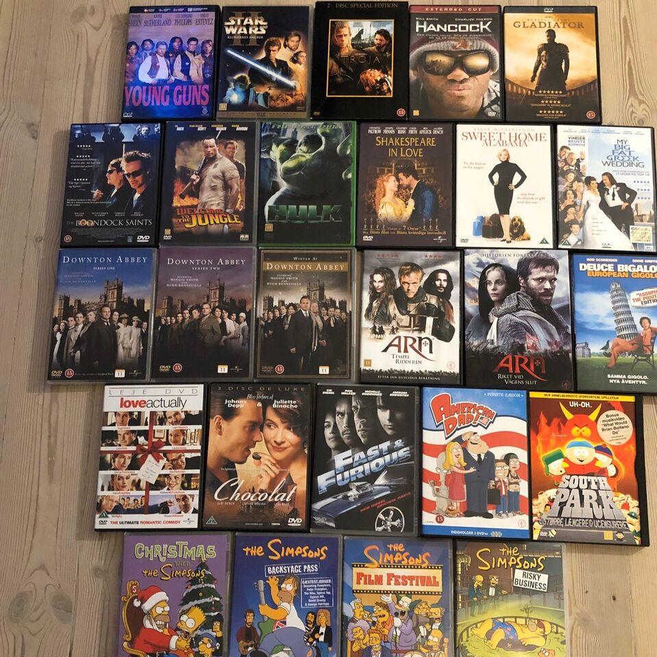 80+ DVD film, DVD, komedie