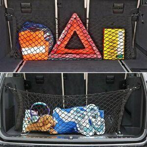 Car Accessories Rear Cargo Organizer Storage Elastic String Net Mesh Pocket Bag