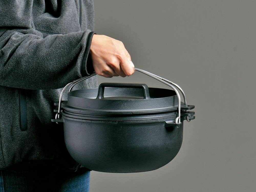 NEW snow peak CS-520 CAST IRON OVEN 26 Oven Dutch Oven 26 Japan Import Fast Shipping bf6018