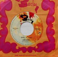 LEO FERRE Avec le temps / L'adieu VG++ to NM- CANADA RARE 1969 FRENCH 45 Vinyle