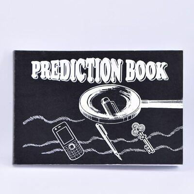 Prediction Book 2.0 Close up Magic Tricks Gimmick Illusions Fun Stage Magic Toys