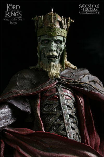 LOTRKING OF THE DEADSTATUELE 6500SIDESHOW / WETA WORKSHOPMIB