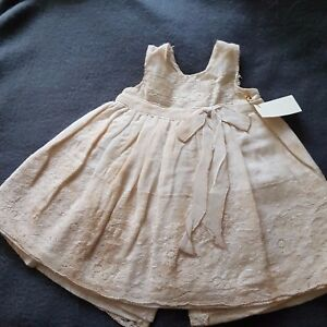 NEW-Dream-Dress-for-a-ca-33-36-cm-Bear-Girl-Underlaid-Handarbeit