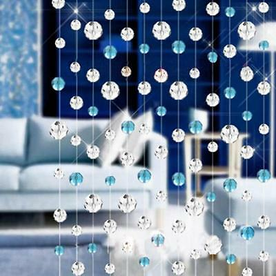 1Meters Glass Crystal Bead Curtain Fashion Luxury Home Living Room Bedroom Decor
