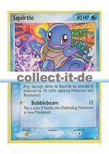 Pokémon 064/100 Squirtle ex Crystal Guardians-inglés