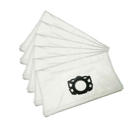 6-12 Dust Bags For Karcher WD4 WD5 WD6 Premium Renovation Vacuum Pleated Filter