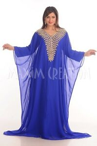 Farasha cheap kaftan ladies maxi ear ring abaya evening gown 4819