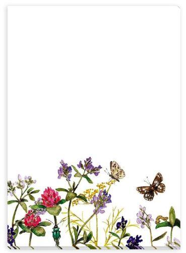 DANIELA DRESCHER*Notizblock*A6*Einkaufsliste*Naturliebe*Möwe*Blumenwiese*