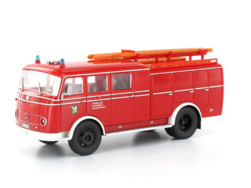 Heico hc2030 h0 camiones Mercedes lp311 Pullman Tlf 16 bomberos nuevas iglesias tanklös