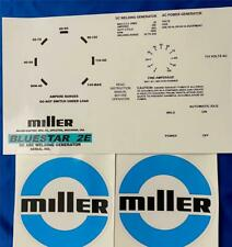 Miller Electric Arc Welders Aead 200le3 Piece Decalwrap Control Plate Amp Decals