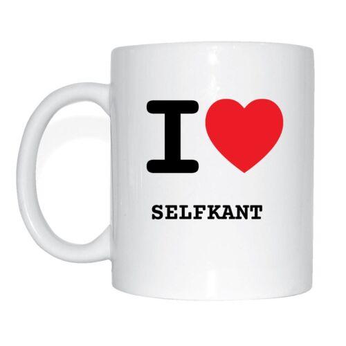 I LOVE selfkant tasse de café tasse