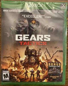 Gears Tactics (Microsoft Xbox One, 2020) Brand New Sealed Xbox Series X Upgraded