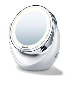 kosmetikspiegel beleuchteter led licht spiegel kosmetik 5 fach vergr erung bad ebay. Black Bedroom Furniture Sets. Home Design Ideas